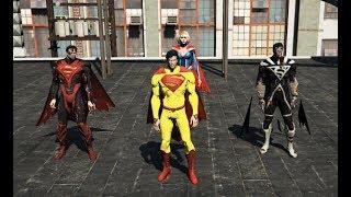 GTA 5 - Hành tinh Superman lâm nguy - Superman siêu cấp độ xuất hiện | GHTG