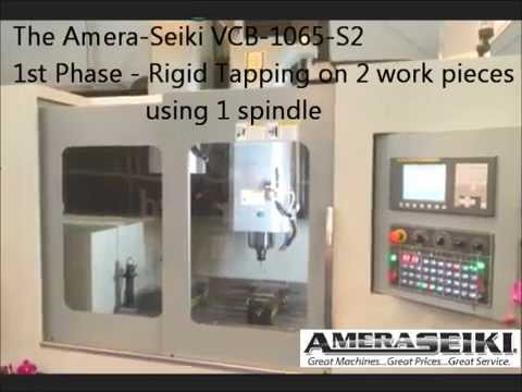 Amera Seiki Vertical Closed Bridge Mill Demo M#: VCB-1065-S2