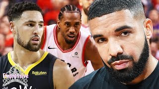 Drake is banned from Warriors games! | Drake shades Klay Thompson and reacts to Raptors win