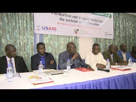 Formation sur le suivi Budgétaire : La COSYDEP et l'ONG 3D accompagnent les acteurs du secteur de  l'education