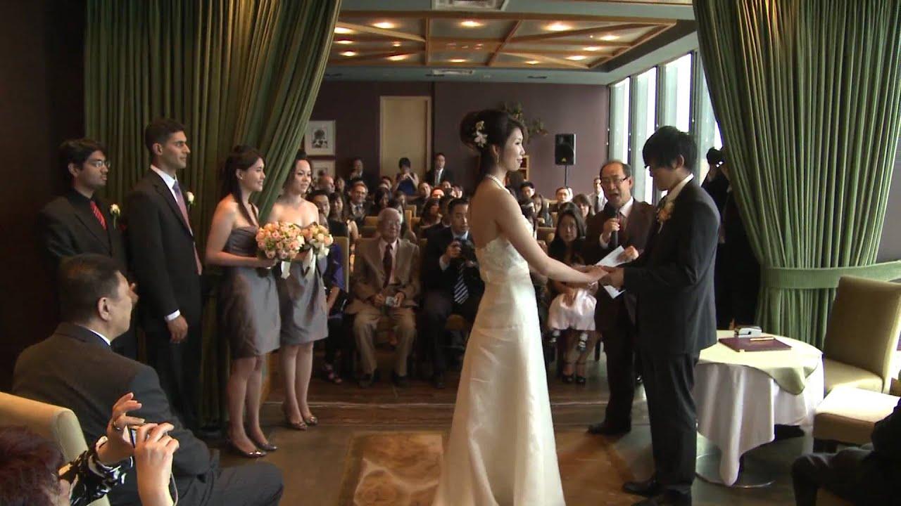 Vr 360 Wedding Ceremony: A Wedding Ceremony AT Canoe Restaurant & Bar Toronto