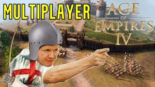 Age of Empires 4   Multiplayer Battles Ft. England, China, Holy Roman Empire & The Abbasid Dynasty