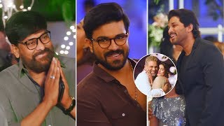 Excl. Video- Allu Arjun Brother Allu Bobby's Wedding Recep..