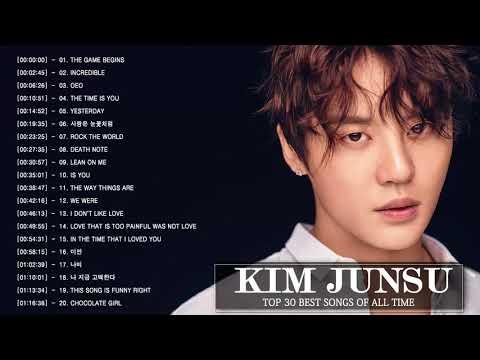 Best Of Kim Junsu Songs - 김준수 최신 인기가요 노래모음 연속듣기 [뮤맵]