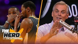 LeBron has had a huge influence on Kevin Durant's game, brand and decisions | NBA | THE HERD