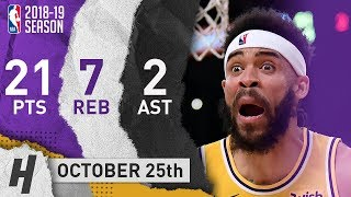 JaVale McGee Full Highlights Nuggets vs Lakers 2018.10.25 - 21 Pts, 2 Ast, 7 Reb!