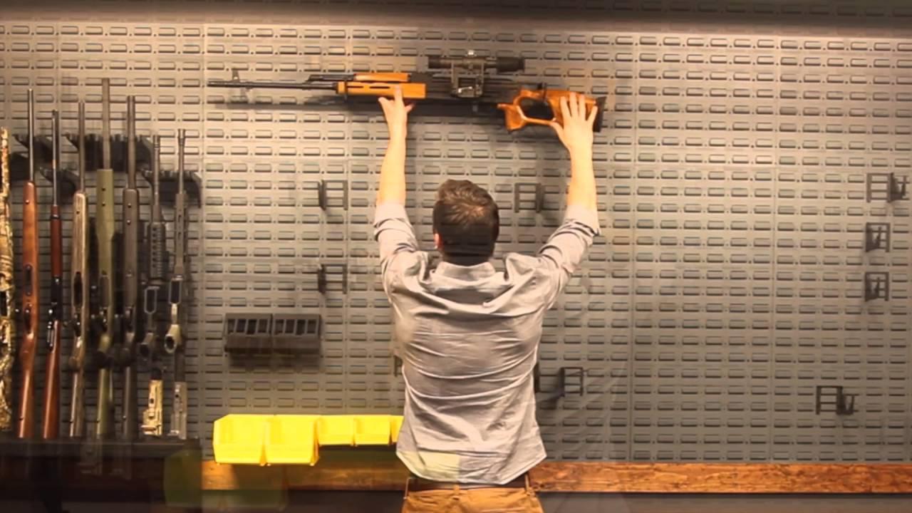 Gun Wall Vault Armory Kit 8 Secureit Gun Storage