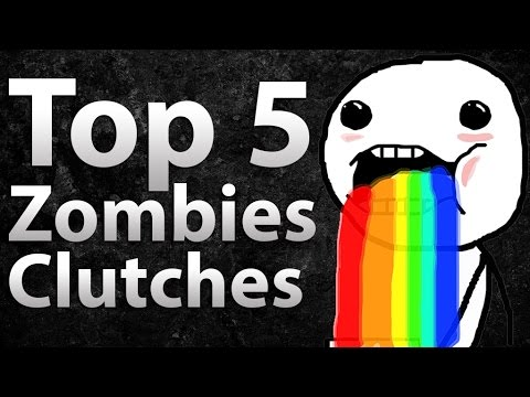 TOP 5 Clutches in Call of Duty Zombies -