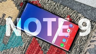 Galaxy Note 9 Review: flawless phone, flamboyant price tag