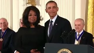Oprah Winfrey Awarded The Medal of Freedom