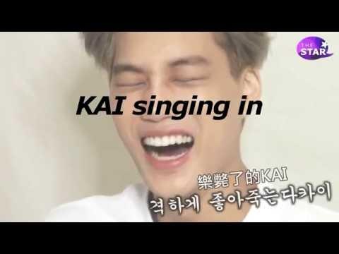 EXO KAI singing in ENGLISH [compilation] | jONGinKAI