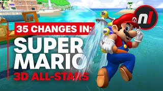 35 Changes in Super Mario 3D All-Stars from the Originals (64, Sunshine, Galaxy)