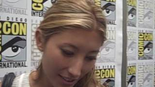 Fran Kranz and Dichen Lachman - 'Dollhouse' at Comic-Con 2009