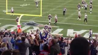 Tom Brady's game winning touchdown pass to Kembrell Thompkins vs Saints 10/13