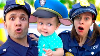Kids Song - Police | +More Nursery Rhymes by Maya and Mary