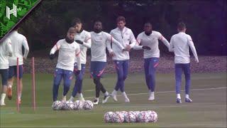 Mendy back plus Werner, Ziyech & Havertz all train as Chelsea prepare for Sevilla | Champions League
