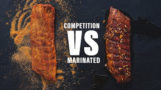 BBQ RIBS EXPERIMENT - Marinated VS Competition Ribs