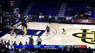 UCI Men's Basketball (9-2) vs. Montana | Highlights | 12.9.18