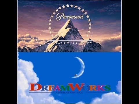 aardmam paramount pictures dreamworks animation skg logo 2005
