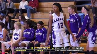 2016 Twin Cities Girls Championship: Mpls Southwest vs. Como Park