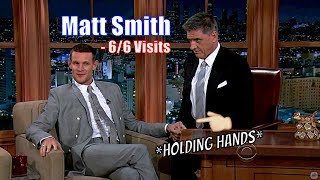 Matt Smith Aka The Doctor - Is Good Friends With Craig - 6/6 Visits In Chronological Order [720p]