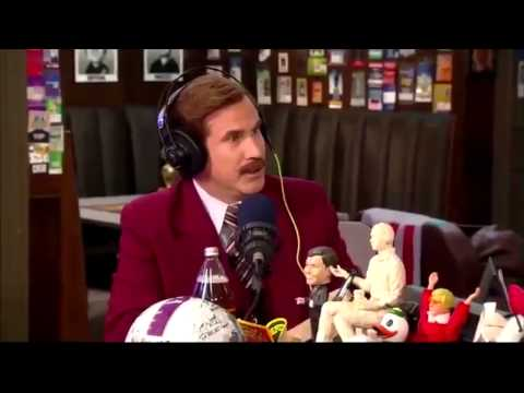 Dan Patrick Show - Ron Burgundy stays classy with his own Chargers Jersey