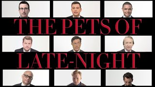 Stephen Colbert, Conan O'Brien and the Rest of the Late Night Crew Talk About Each Other's Pets