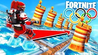 WINTER OLYMPICS *NEW* CHILLER TRAP Game Modes in Fortnite Battle Royale