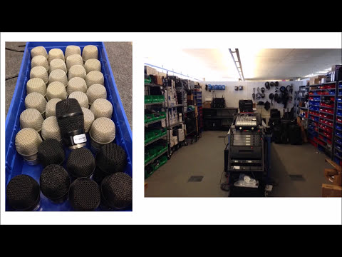 Inventory Barcode System Helps Shure Inc