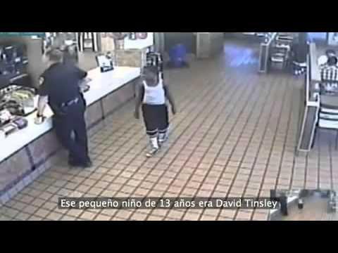 Ultimo acto de bondad de un policía