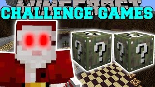 Minecraft: SANTA CLAWS CHALLENGE GAMES - Lucky Block Mod - Modded Mini-Game