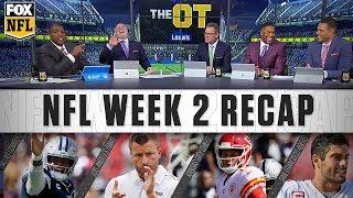 Week 2 Cowboys, Rams, & Chiefs: the crew breaks it down | FOX NFL