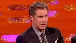 WILL FERRELL Does Harrison Ford Impression - The Graham Norton Show on BBC AMERICA