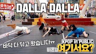 [여기서요?] 있지 ITZY - 달라달라 DALLA DALLA   커버댄스 DANCE COVER   KPOP IN PUBLIC @동성로