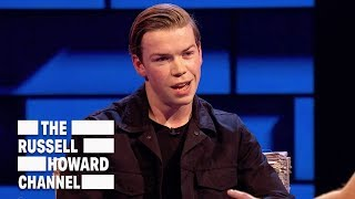 Will Poulter couldn't stop talking gibberish to Brad Pitt - The Russell Howard Hour