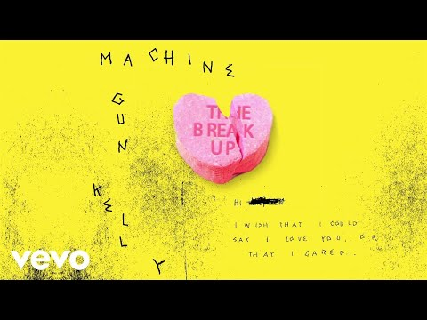 Machine Gun Kelly - The Break Up (Audio)