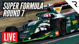 SUPER FORMULA 2020 - Rd.7, Fuji - Full Race, LIVE With English Commentary