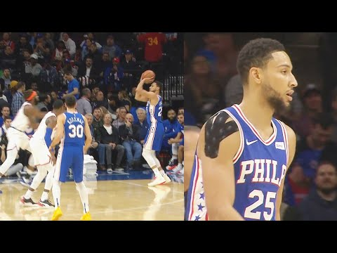 Ben Simmons SHOCKING First Ever 3 Point Shot Made In His NBA Career! Sixers vs Knicks