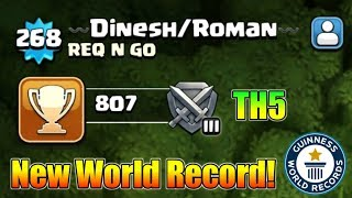 New World Record By Indian Clasher : Highest Experience at TH5