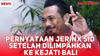 Pernyataan Jerinx SID dihadapan media setelah dilimpahkan ke Kejati Bali