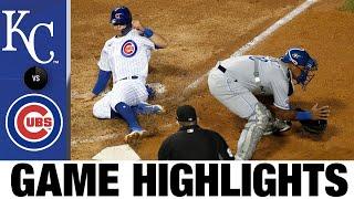 Kris Bryant, Alec Mills lead shutout win | Royals-Cubs Game Highlights 8/2/20