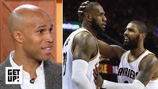 LeBron and Kyrie need to stay broken up - Richard Jefferson | Get Up!