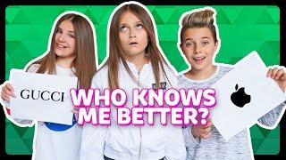 WHO KNOWS ME BETTER?! Piper Rockelle vs Gavin Magnus *CHALLENGE*   Sophie Fergi