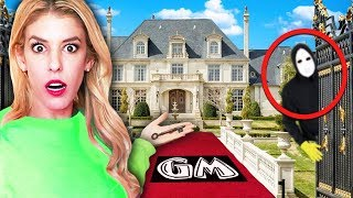 FOUND GAME MASTER Top Secret ESCAPE ROOM Mansion! (Exploring Mysterious Hidden Clues in Real Life)