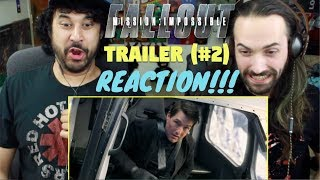 MISSION: IMPOSSIBLE - FALLOUT - Official TRAILER (#2) - REACTION & REVIEW!!!