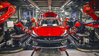 How Tesla Builds Cars So Fast
