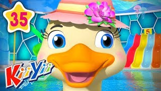 How To Count 5 Little Ducks | Plus More Nursery Rhymes | by KiiYii | Nursery Rhymes & Kids Songs