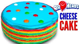 AIRHEADS CANDY CHEESECAKE DIY | How To Make It!