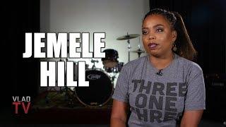 "Jemele Hill is Shocked Warren Sapp Said OBJ Isn't ""Great"" in His VladTV Interview (Part 10)"
