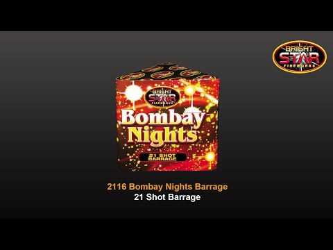 Fantastic Fireworks Bombay Nights - 21 Shot Barrage